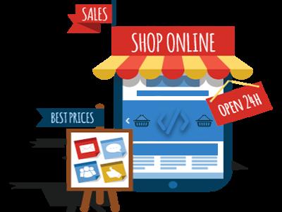 Mise en place d'E-commerce